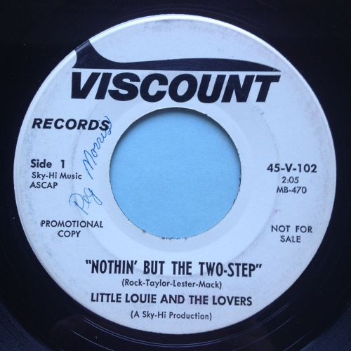 Little Louie & The Lovers - Nothin' but the two-step - Viscount promo - Ex-