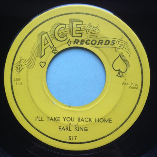 Earl King - I'll take you back home - Ace - Ex-