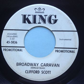 Clifford Scott - Broadway Caravan - King promo - Ex-