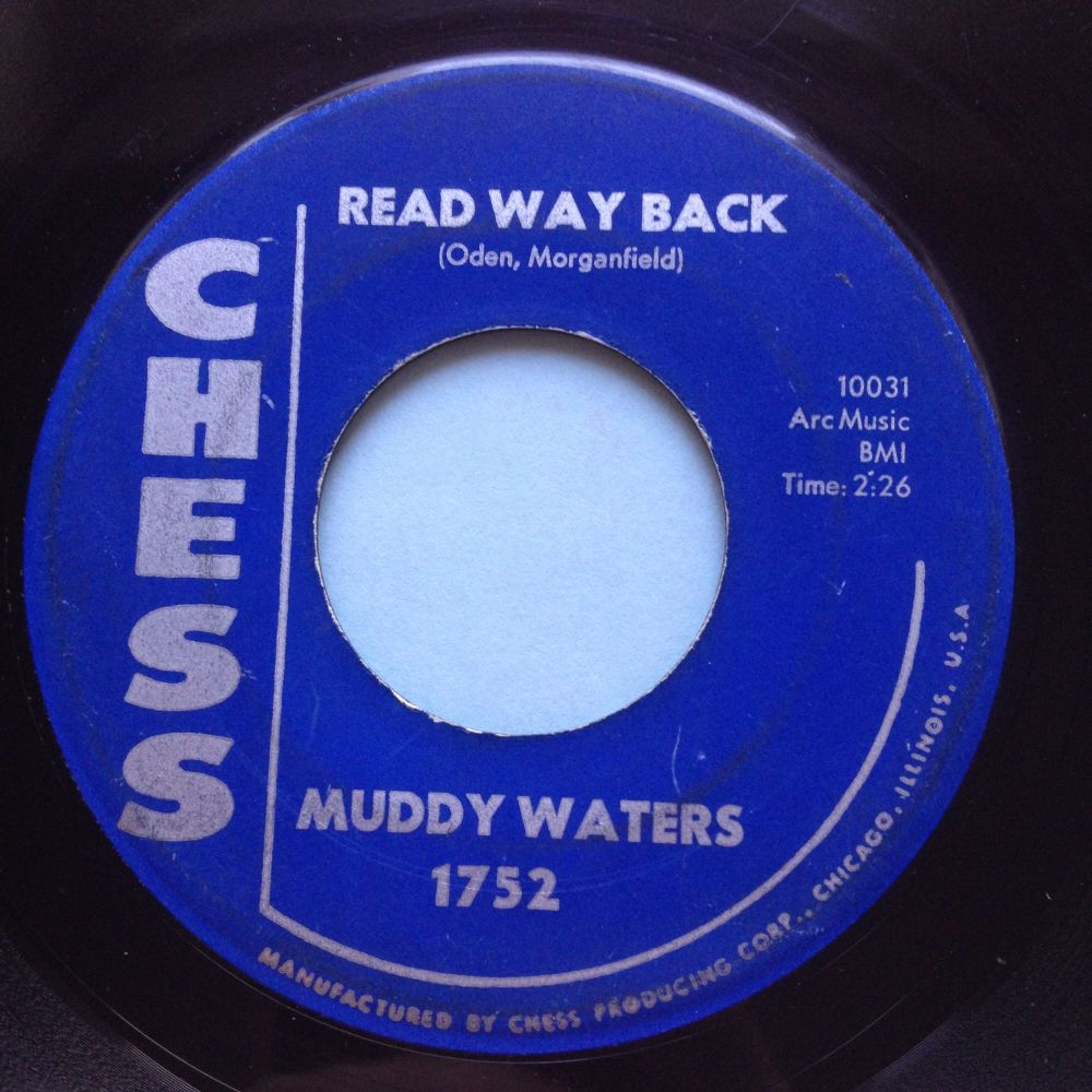 Muddy Waters - Read way back - Chess - VG+
