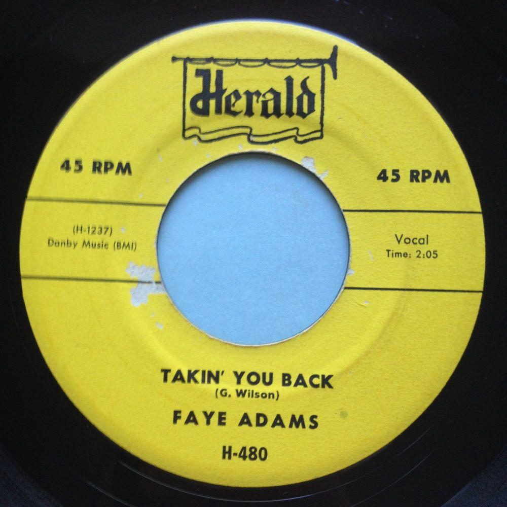 Faye Adams - Takin' you back - Herald - Ex