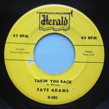 Faye Adams - Takin' you back - Herald - Ex
