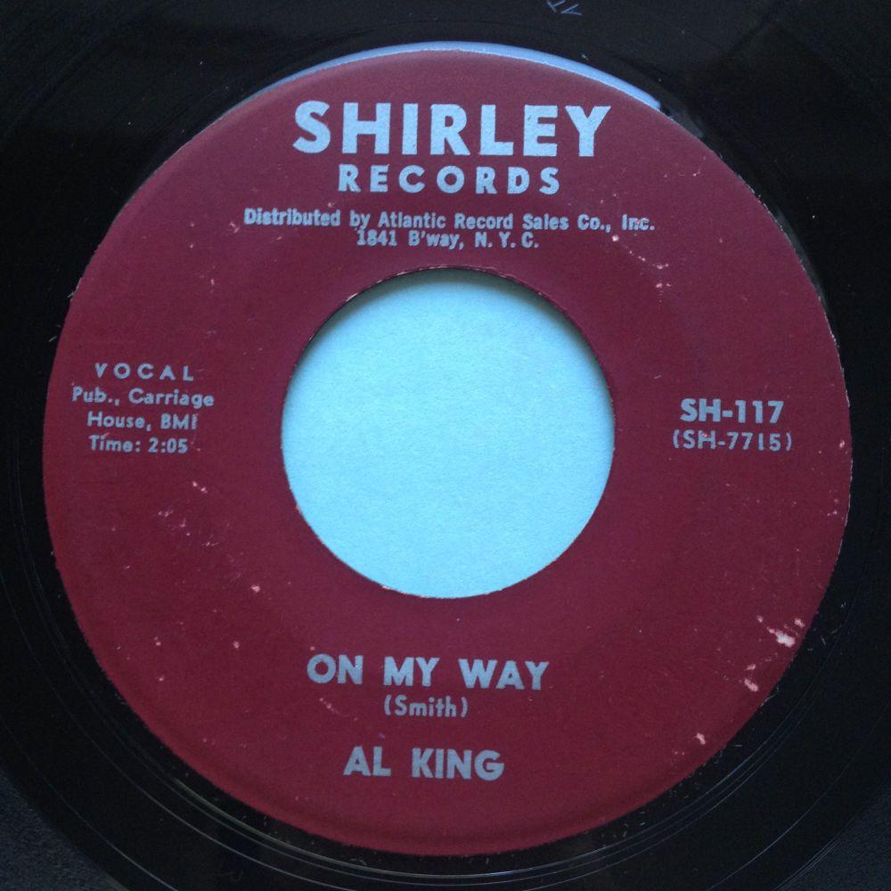 Al King - On my way - Shirley - Ex-