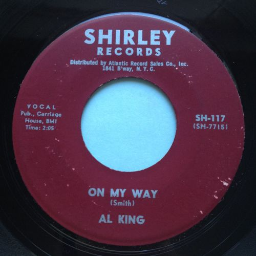 Al King - On my way - Shirley - Ex-
