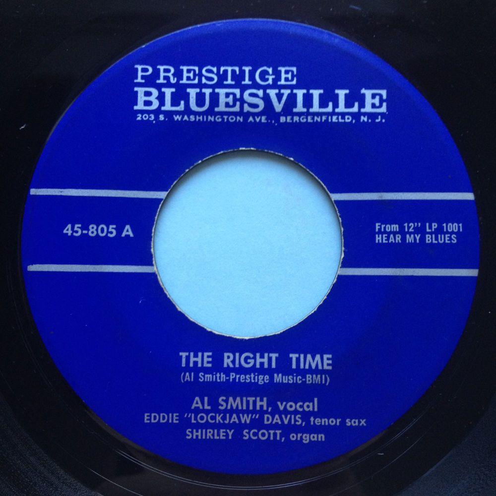 Al Smith - The right time - Prestige Bluesville - Ex-