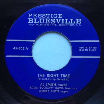 Al Smith - The right time - Prestige Bluesville - Ex-