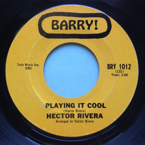 Hector Rivera - Playing it cool - Barry - Ex-