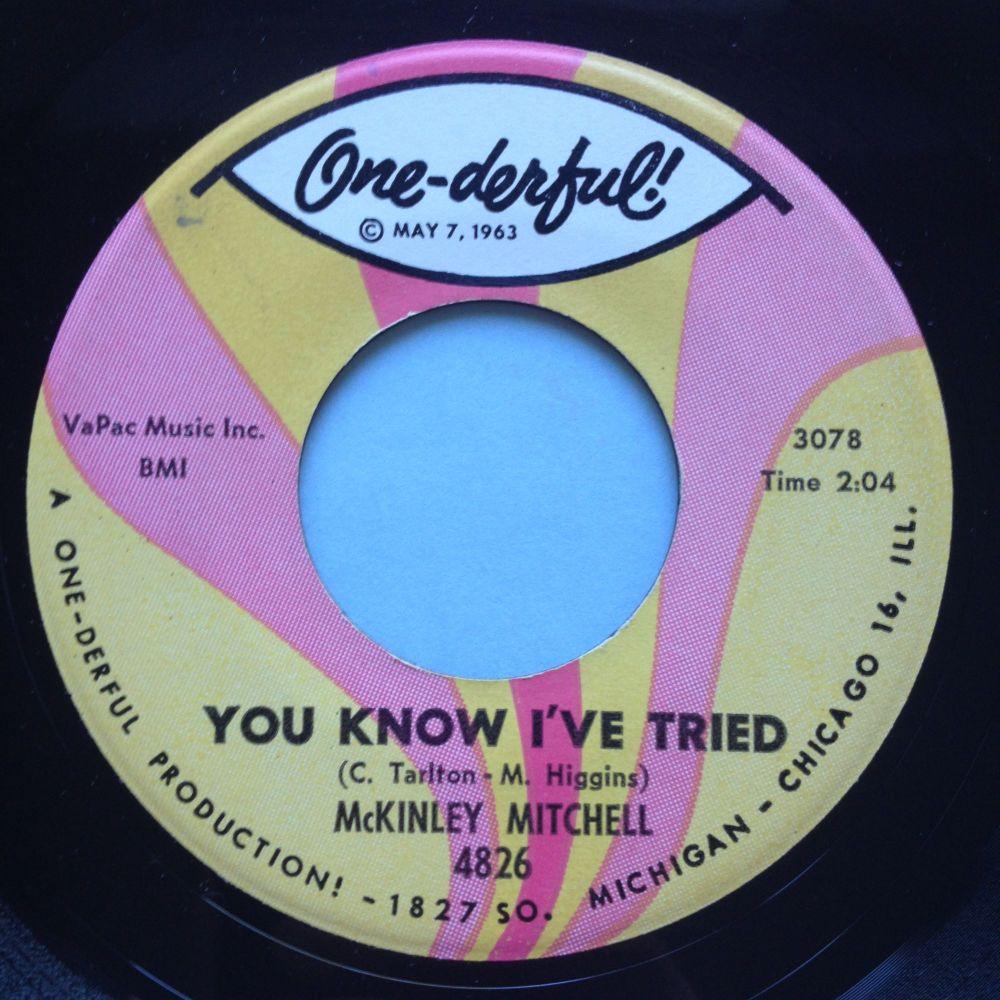 McKinley Mitchell - You know I've tried - One-derful - Ex
