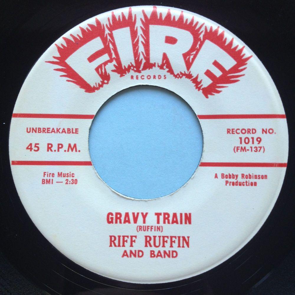 Riff Ruffin - Gravy Train - Fire - Ex
