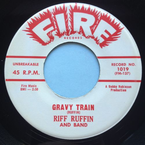 Riff Ruffin - Gravy Train - Fire - Ex