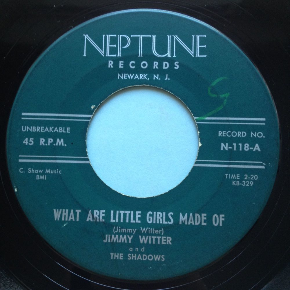 Jimmy Witter - What are little girls made of - Neptune - VG+