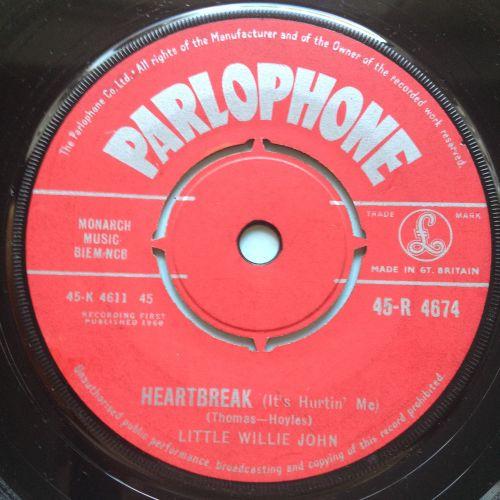 Little Willie John - Heartbreak - UK Parlophone - Ex