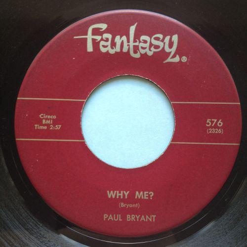 Paul Bryant - Why me? - Fantasy - EX