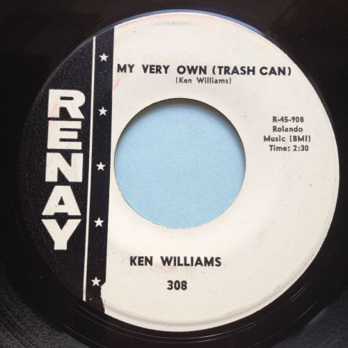 Ken Williams - My very own (trashcan) - Renay - Ex