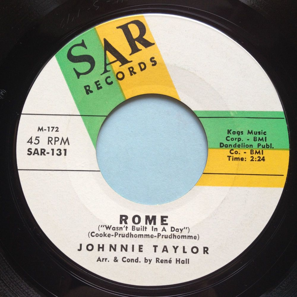 Johnnie Taylor - Rome - SAR - Ex