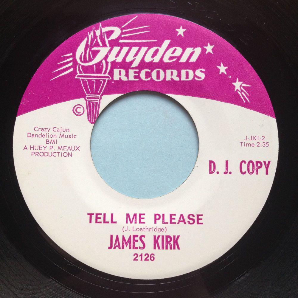 James Kirk - Tell me please - Guyden promo - Ex