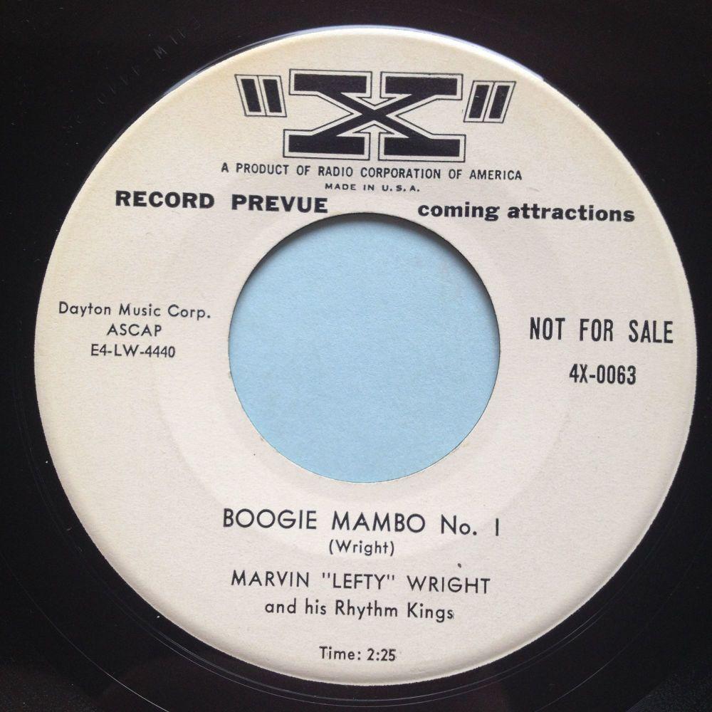 Marvin 'Lefty' Wright - Boogie Mambo No. 1 - X (promo) - Ex
