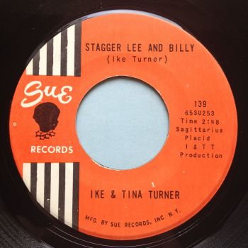 Ike & Tina Turner - Stagger Lee & Billy b/w Can't chance a break up - Sue - Ex