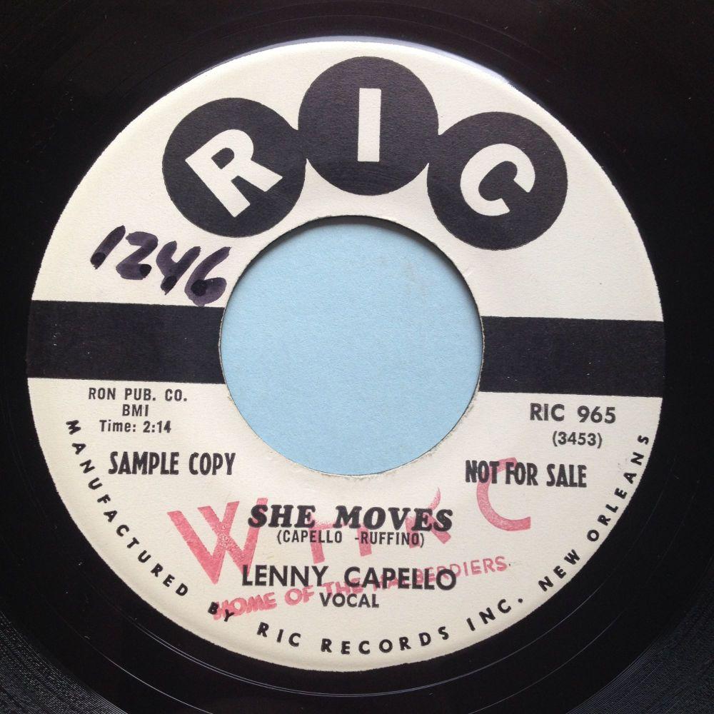 Lenny Capello - She moves - Ric promo - Ex
