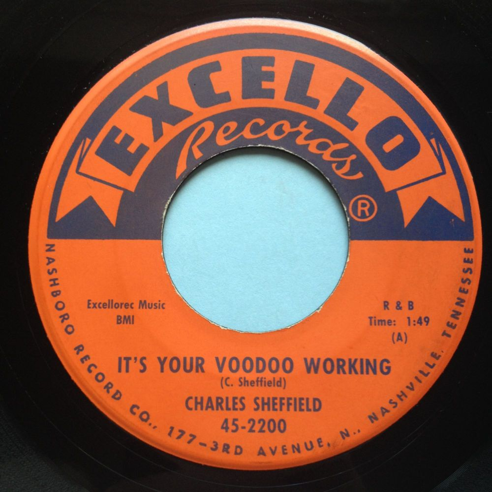 Charles Sheffield - It's your voodoo working - Excello - Ex