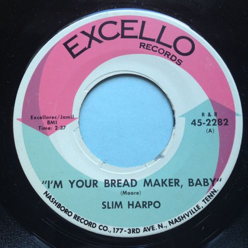 Slim Harpo - I'm your breadmaker baby - Excello - VG+