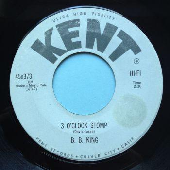 B B King - 3 o'clock stomp - Kent - Ex