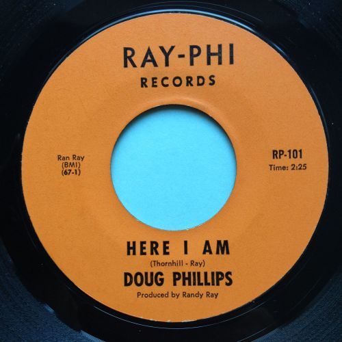 Doug Phillips - Here I am - Ray-Phi - Ex