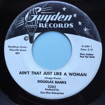 Douglas Banks - Ain't that just like a woman - Guyden promo - Ex