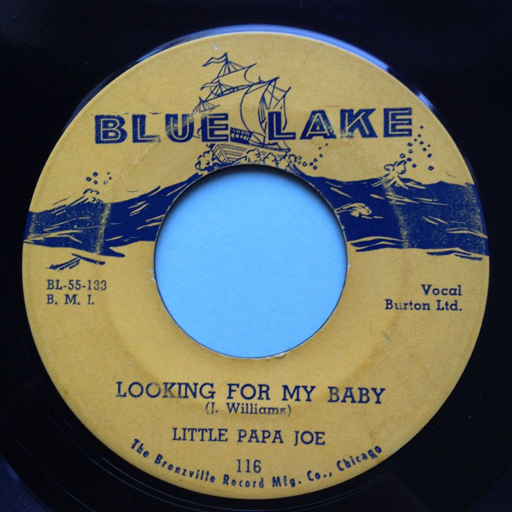 Little Papa Joe - Looking for my baby - Blue Lake - VG+