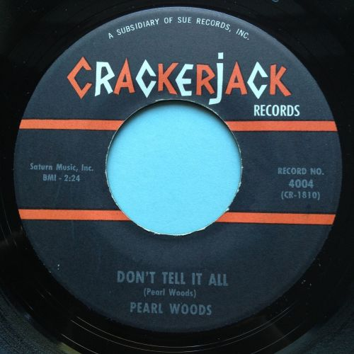 Pearl Woods - Don't tell it all - Crackerjack - Ex