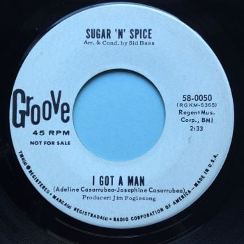 Sugar 'n' Spice - I got a man - Groove promo - Ex