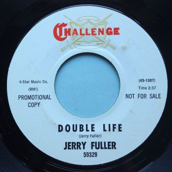 Jerry Fuller - Double Life b/w Turn to me - Challenge promo - Ex