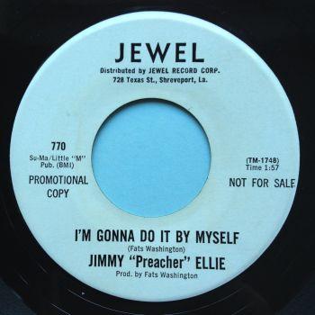 Jimmy 'Preacher' Ellie - I'm gonna do it by myself b/w Go head on - Jewel promo - Ex-