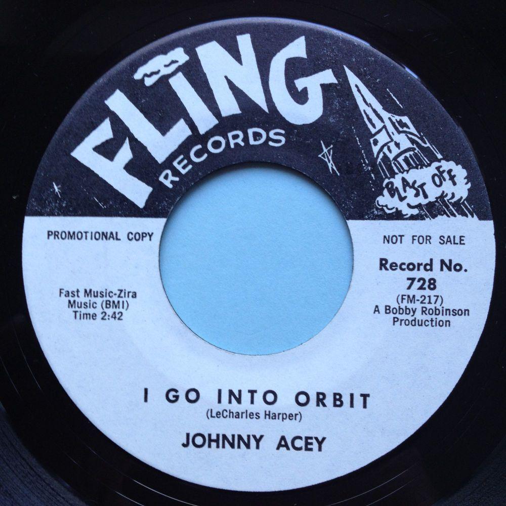 Johnny Acey - I go into orbit - Fling promo - Ex