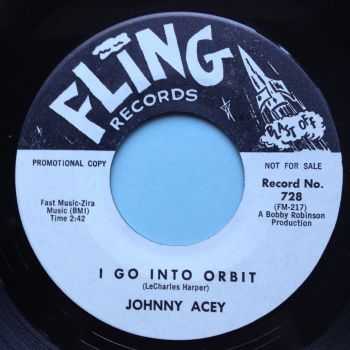 Johnny Acey - I go into orbit - Fling promo - Ex