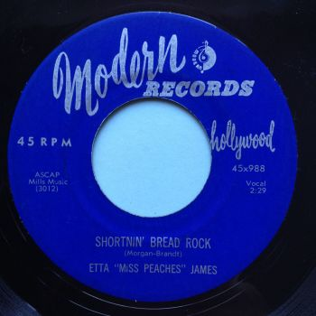 "Etta ""Miss Peaches"" James - Shortnin' bread rock - Modern - Ex-"