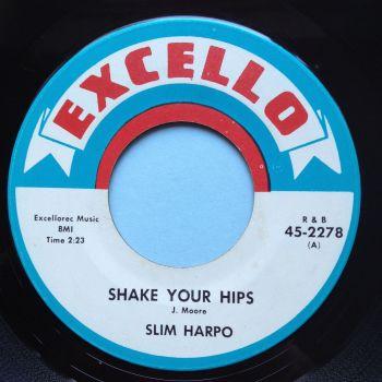 Slim Harpo - Shake your hips - Excello - Ex