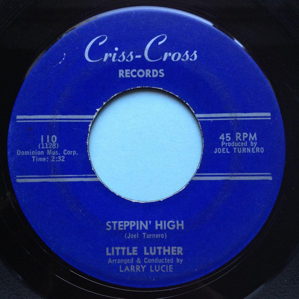 Little Luther - Du dee squat b/w Steppin High - Criss Cross - VG+