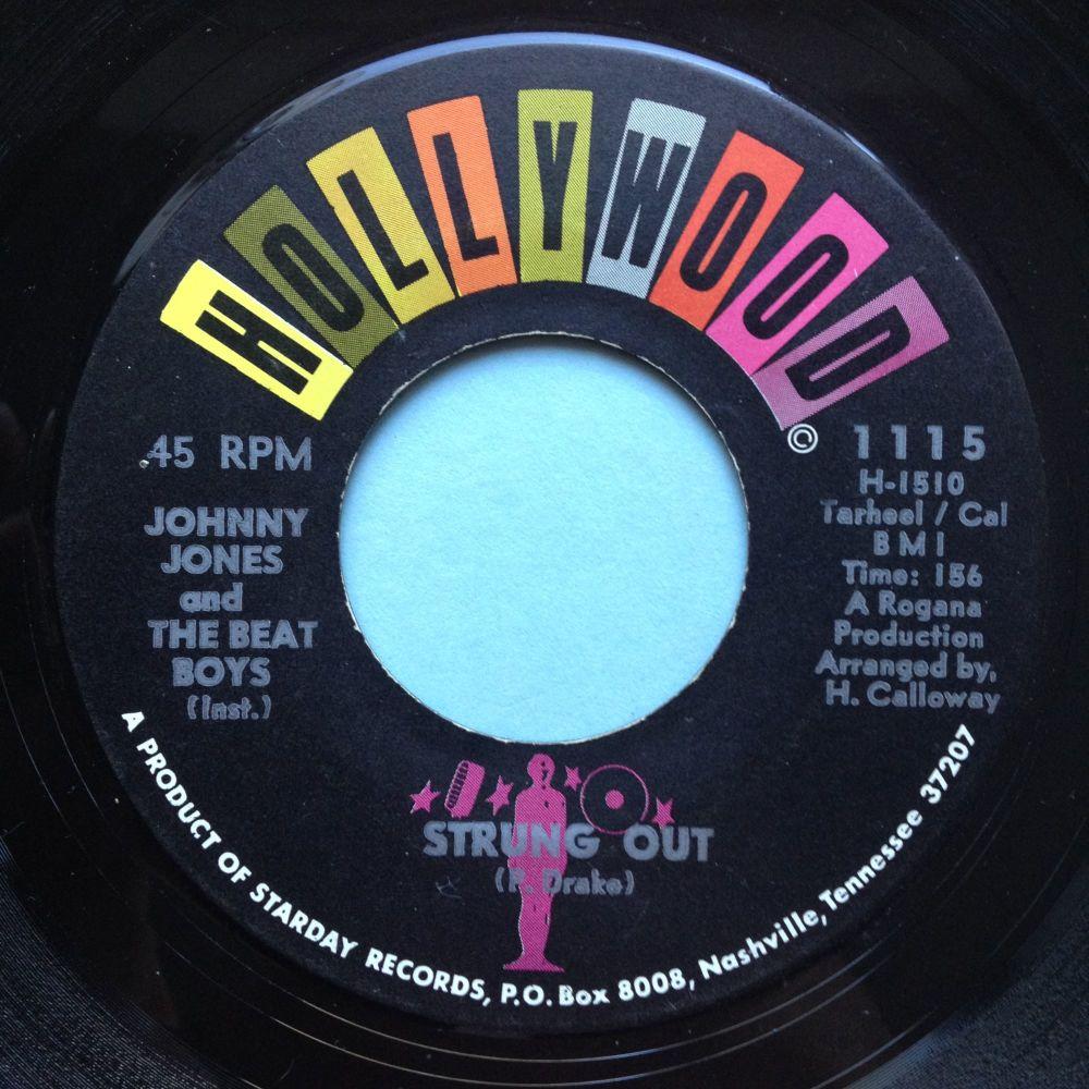 Johnny Jones & Beat Boys - Strung Out - Hollywood - Ex