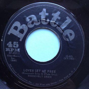 Roosevelt Grier - Lover set me free - Battle - Ex
