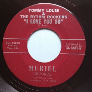 Tommy Louis - I love you so - Muriel - Ex-