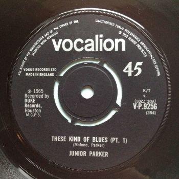 Junior Parker - These kind of blues - UK Vocalion - Ex