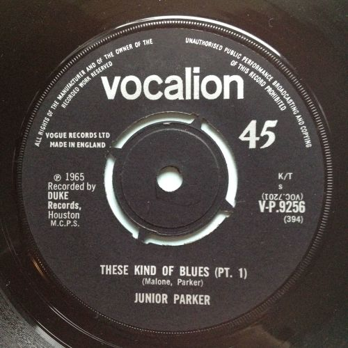 Junior Parker - These kind of blues - UK Vocalion - Ex