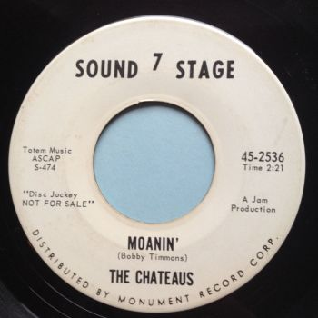 Chateaus - Moanin' - Sound Stage 7 promo - Ex-
