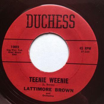 Lattimore Brown - Teenie Weenie - Duchess - VG+