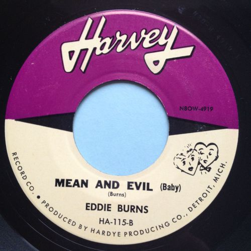 Eddie Burns - Mean & Evil (Baby) - Harvey - Ex