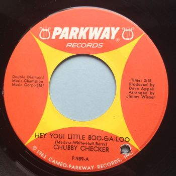 Chubby Checker - Hey you, little boogaloo - Parkway - Ex
