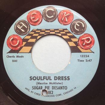 Sugar Pie DeSanto - Soulful Dress - Checker - Ex-
