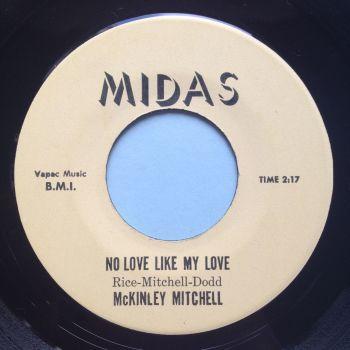 McKinley Mitchell - No love (like my love) - Midas - Ex