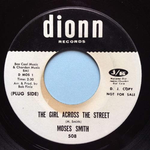Moses Smith - The girl across the street - Dionn promo - Ex